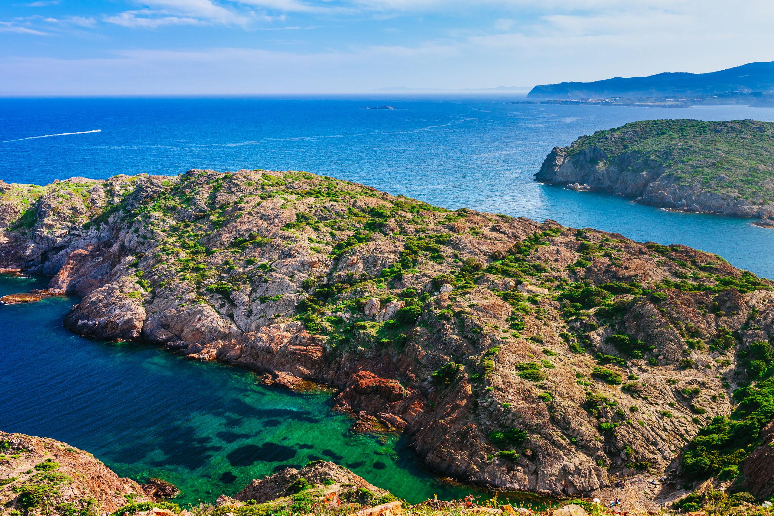 Sea Landscape of Cap De Creus in Catalonia