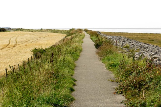 Lancanshire coastline