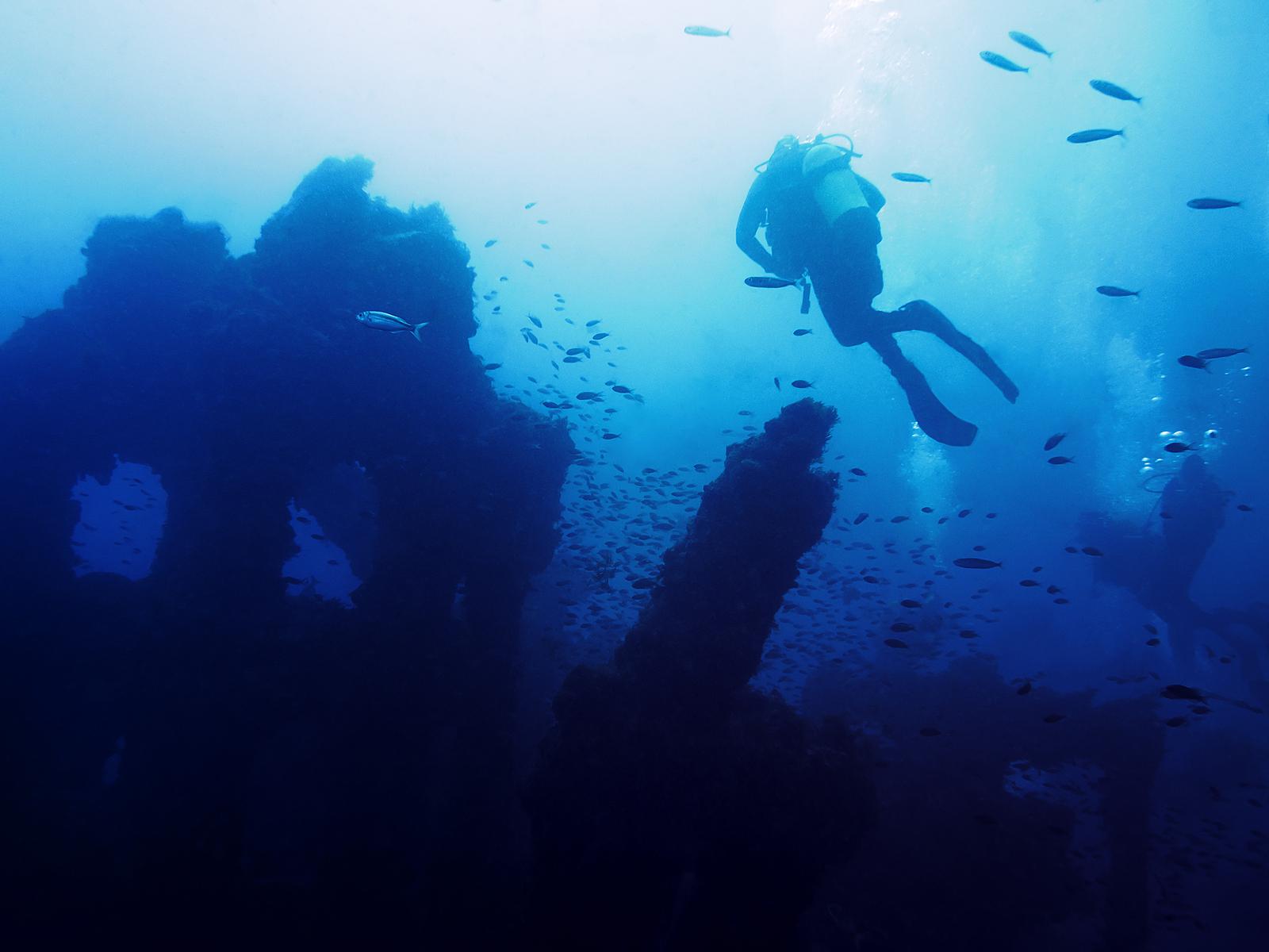 scotland diving wreck