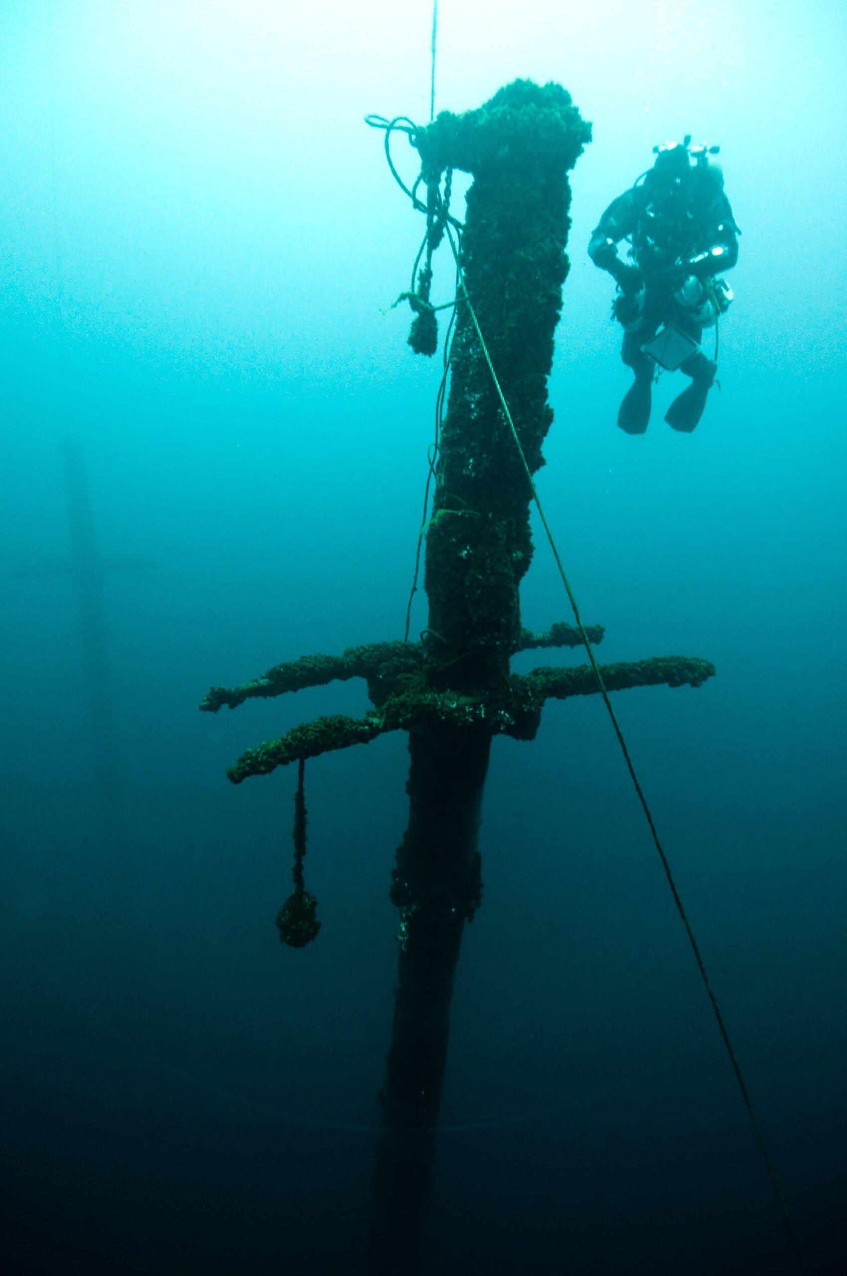 wreck diving croatia